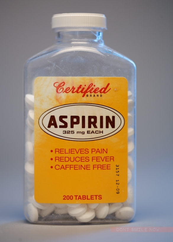 ASPIRIN, the 99 cents store
